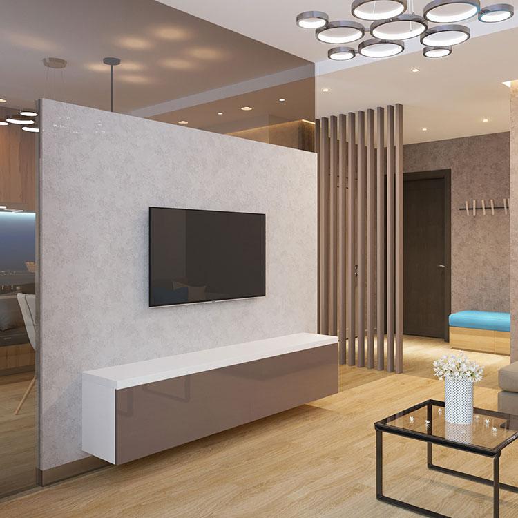 Appartamento di 40 mq con arredi di design n.17