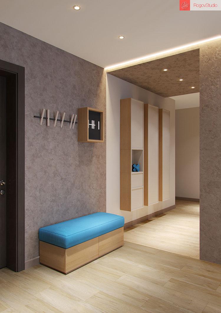 Appartamento di 40 mq con arredi di design n.18