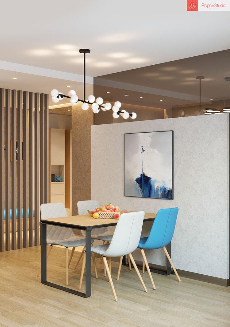 Appartamento di 40 mq con arredi di design n.19