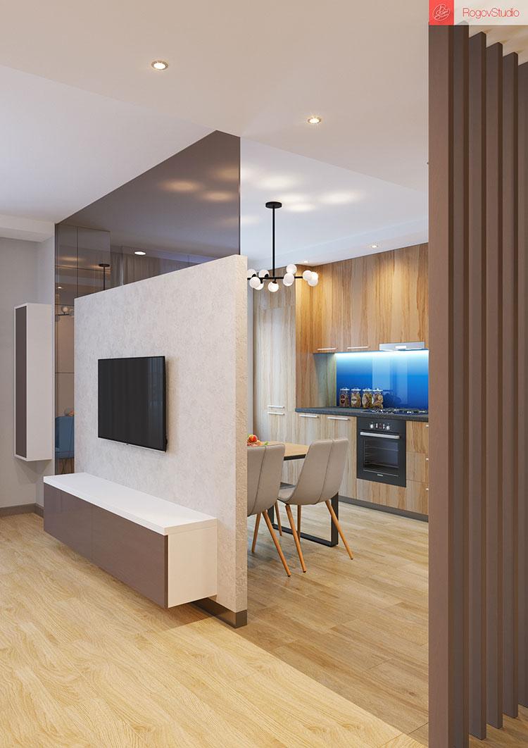 Appartamento di 40 mq con arredi di design n.20