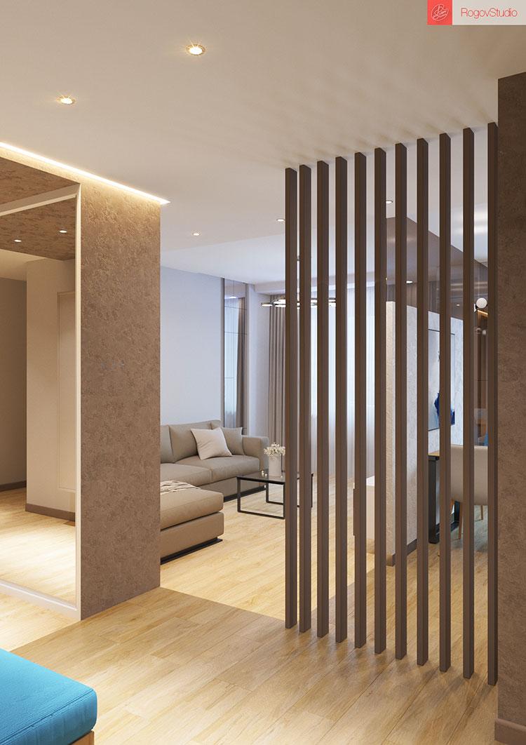 Appartamento di 40 mq con arredi di design n.22
