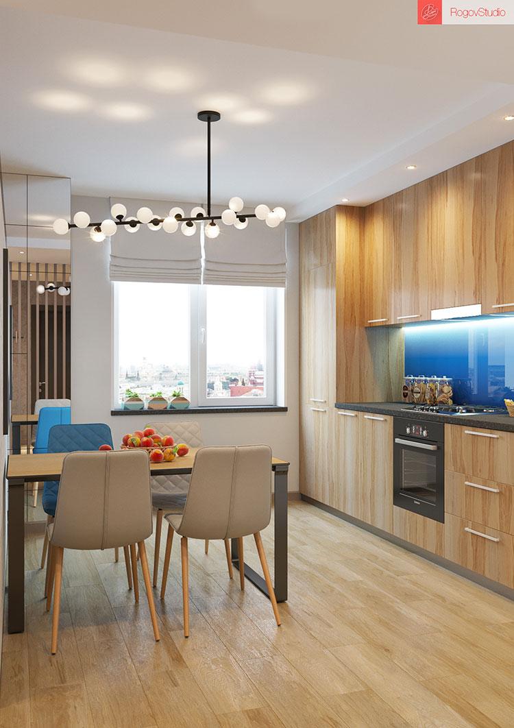 Appartamento di 40 mq con arredi di design n.23