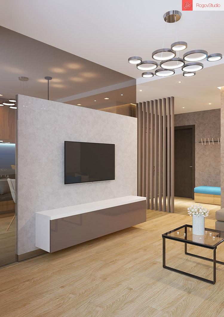 Appartamento di 40 mq con arredi di design n.24