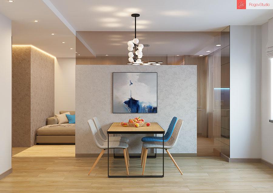 Appartamento di 40 mq con arredi di design n.25