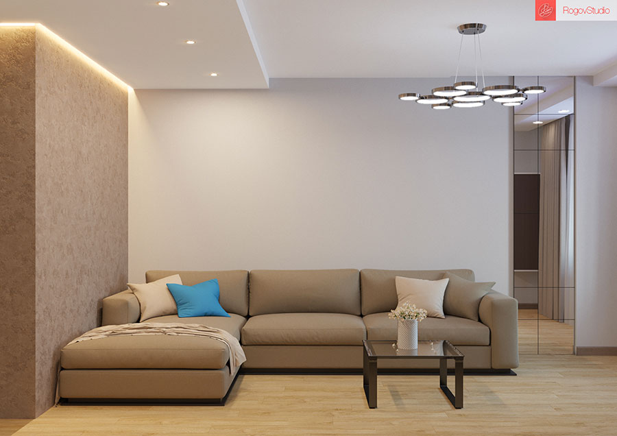 Appartamento di 40 mq con arredi di design n.27