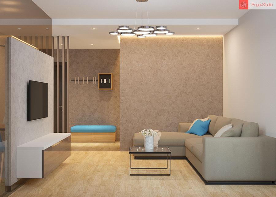 Appartamento di 40 mq con arredi di design n.28