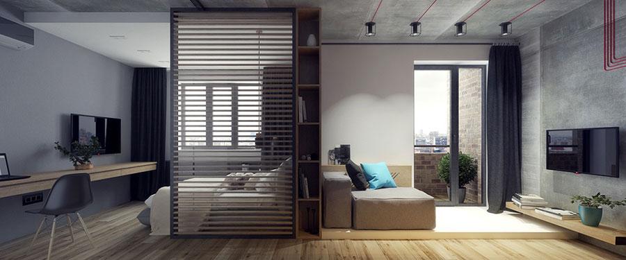 Appartamento di 40 mq con arredi di design n.29