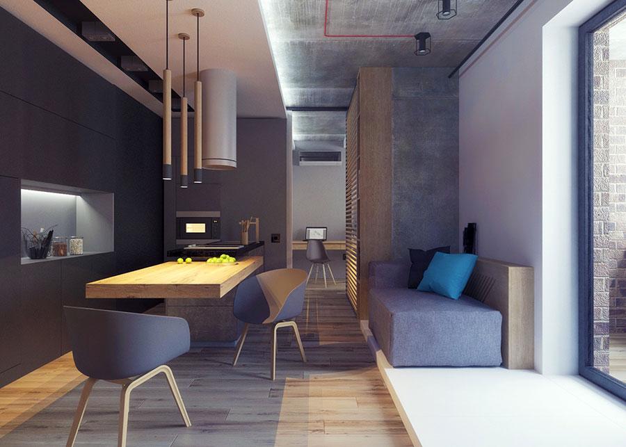Appartamento di 40 mq con arredi di design n.31