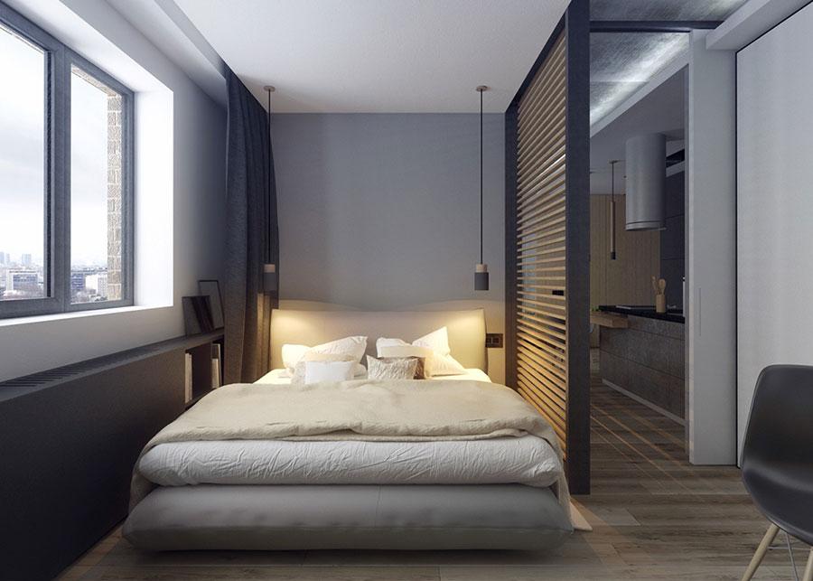 Appartamento di 40 mq con arredi di design n.34