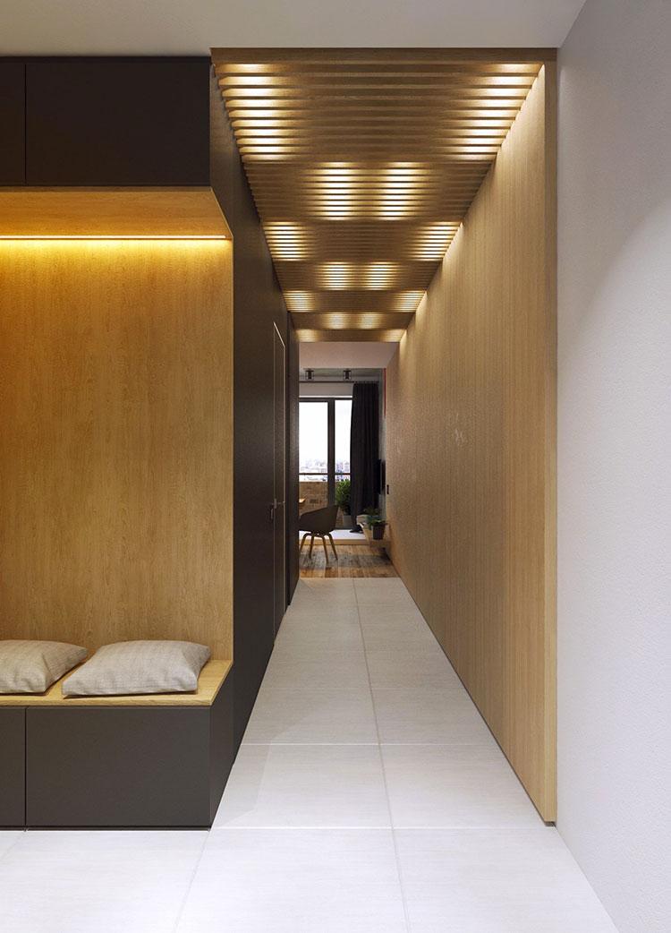 Appartamento di 40 mq con arredi di design n.35