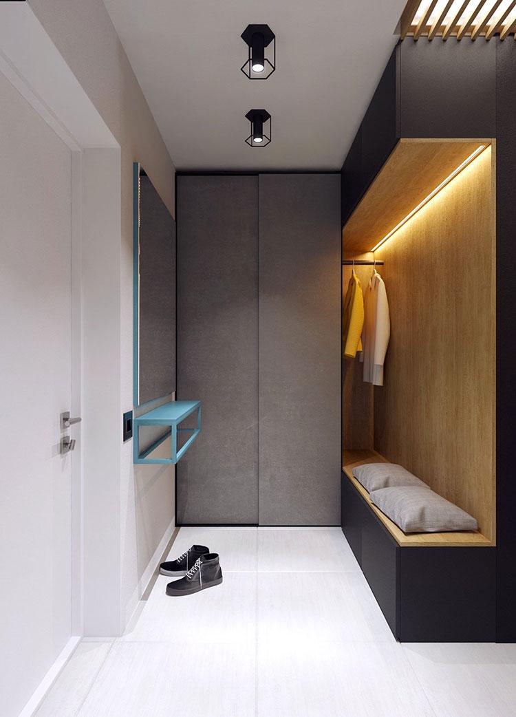 Appartamento di 40 mq con arredi di design n.36