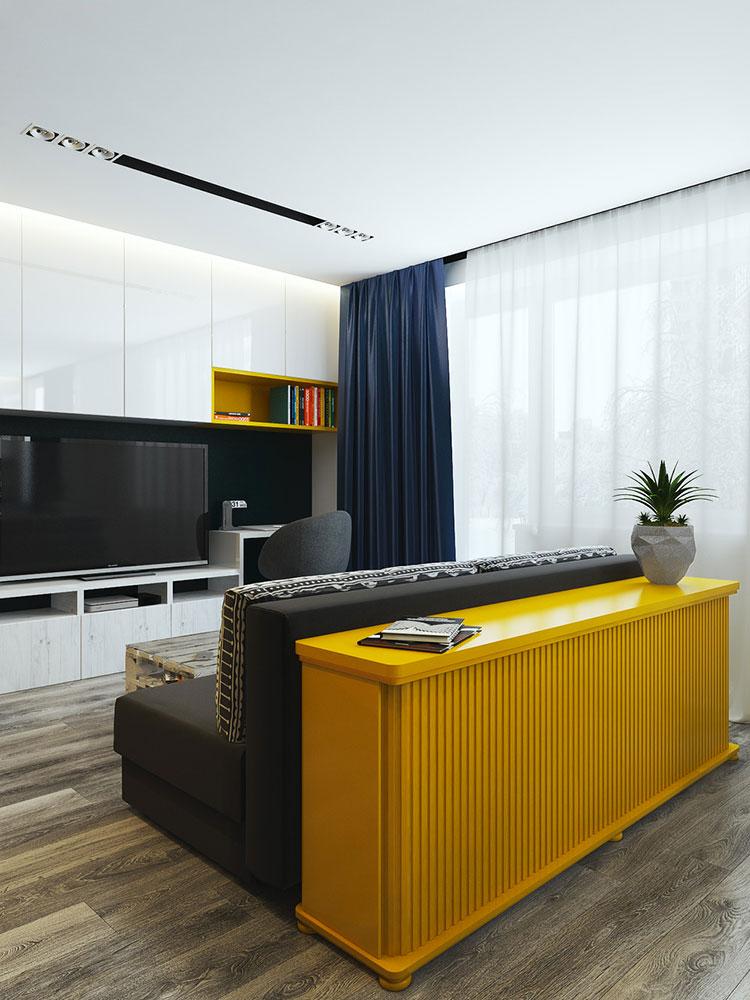Appartamento di 40 mq con arredi di design n.38