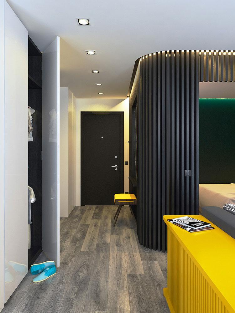 Appartamento di 40 mq con arredi di design n.43