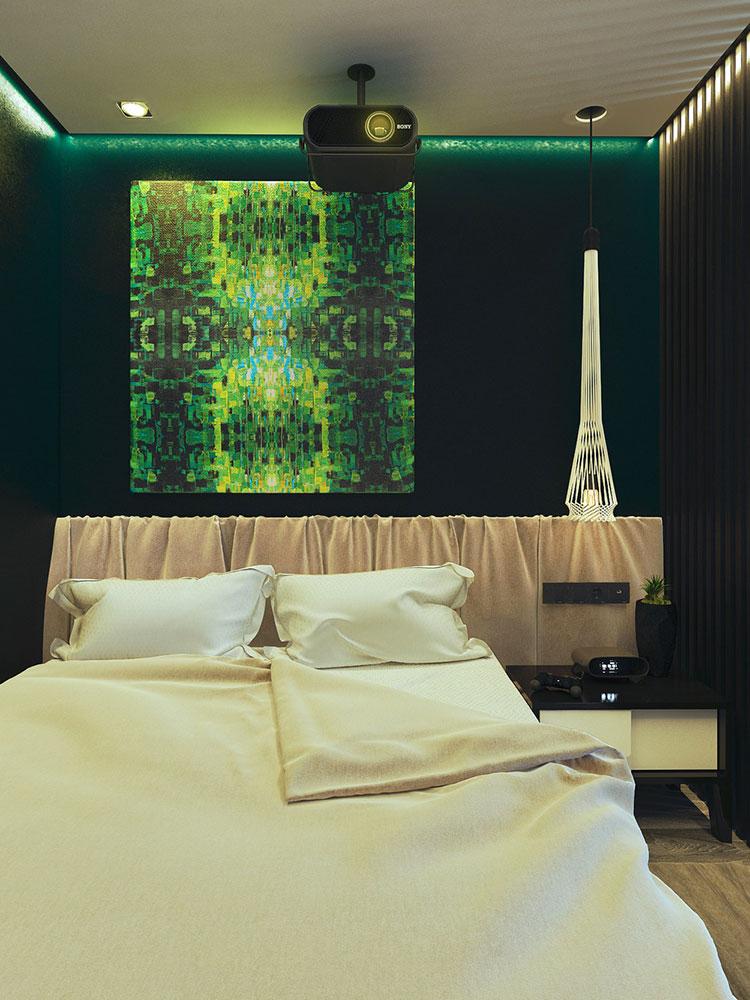 Appartamento di 40 mq con arredi di design n.45
