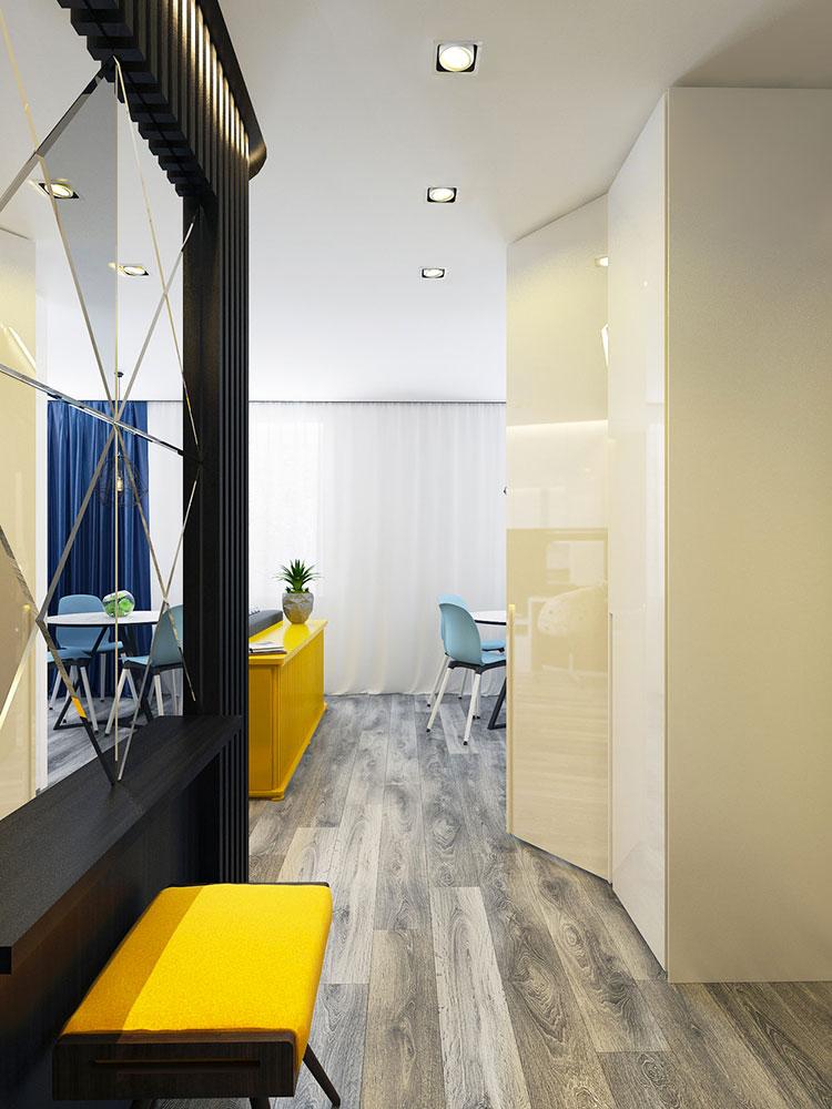 Appartamento di 40 mq con arredi di design n.46