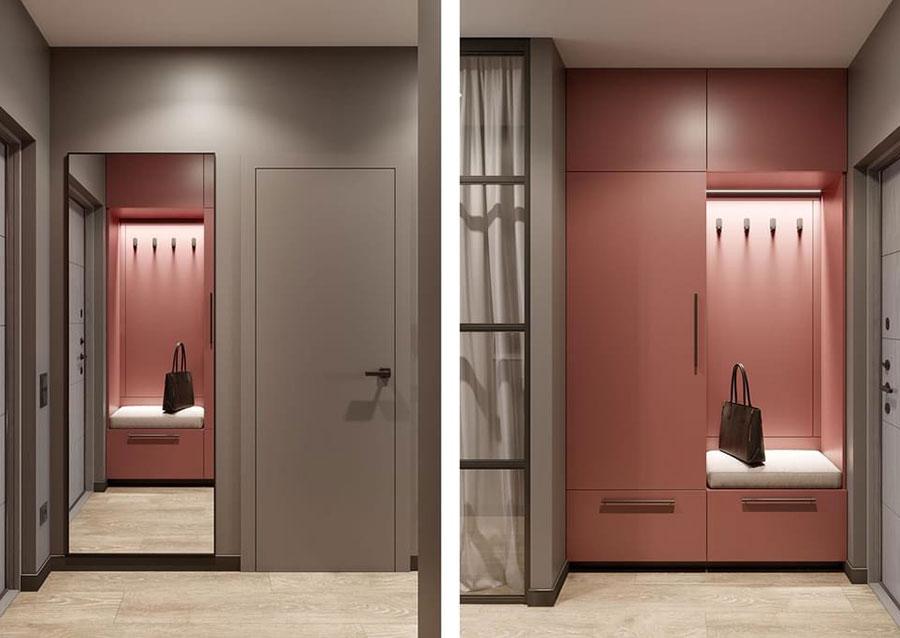 Progetto per appartamento di 40 mq n.51