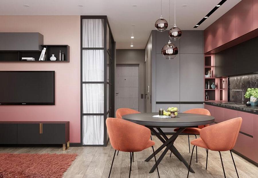 Progetto per appartamento di 40 mq n.52