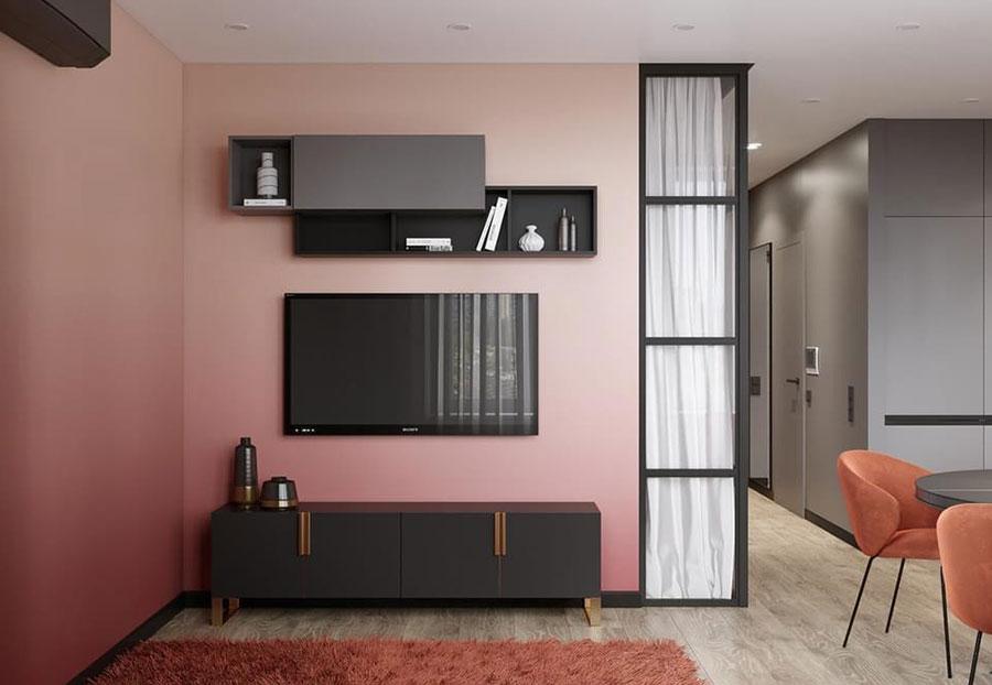 Progetto per appartamento di 40 mq n.54