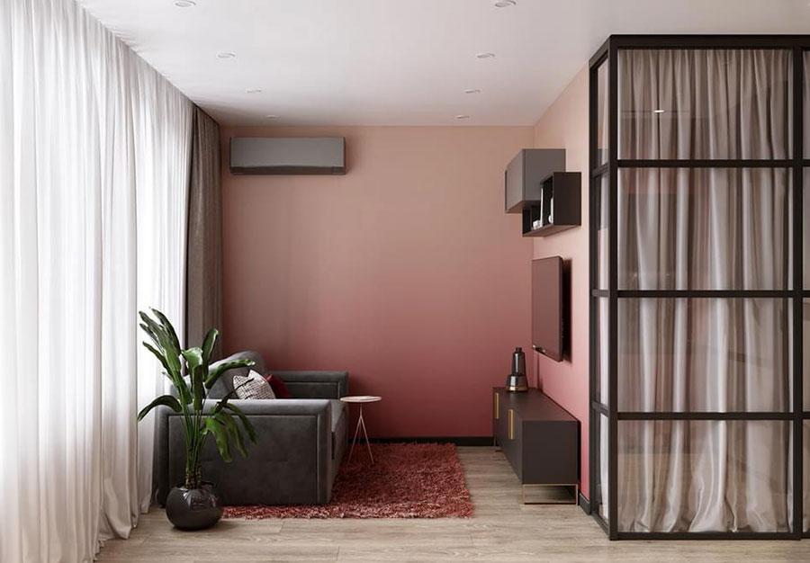 Progetto per appartamento di 40 mq n.55