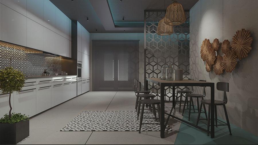 Progetto per appartamento di 40 mq n.60
