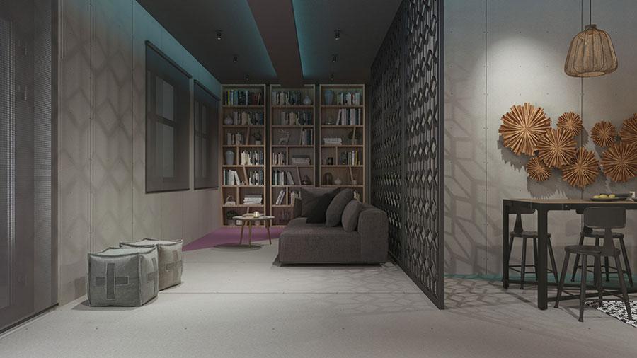 Progetto per appartamento di 40 mq n.62