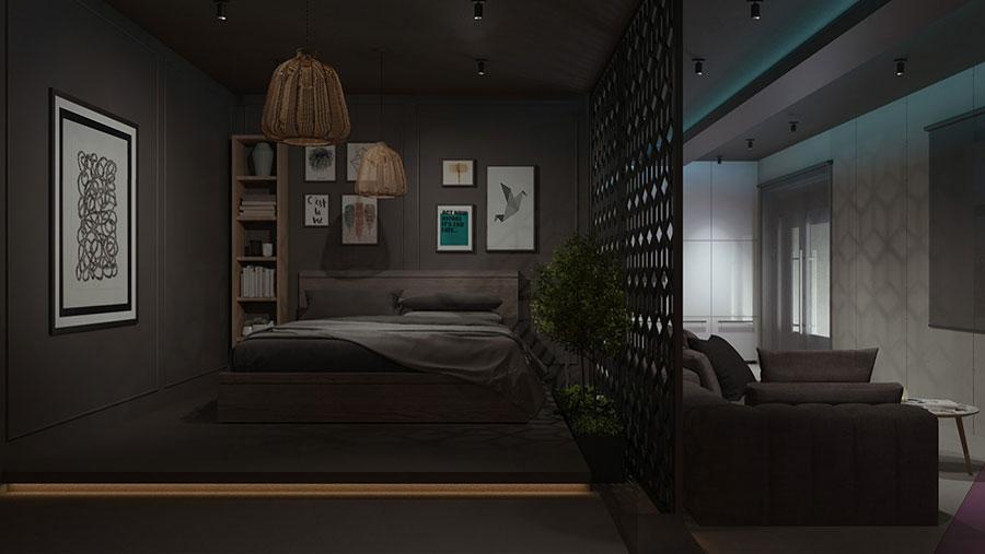 Progetto per appartamento di 40 mq n.64