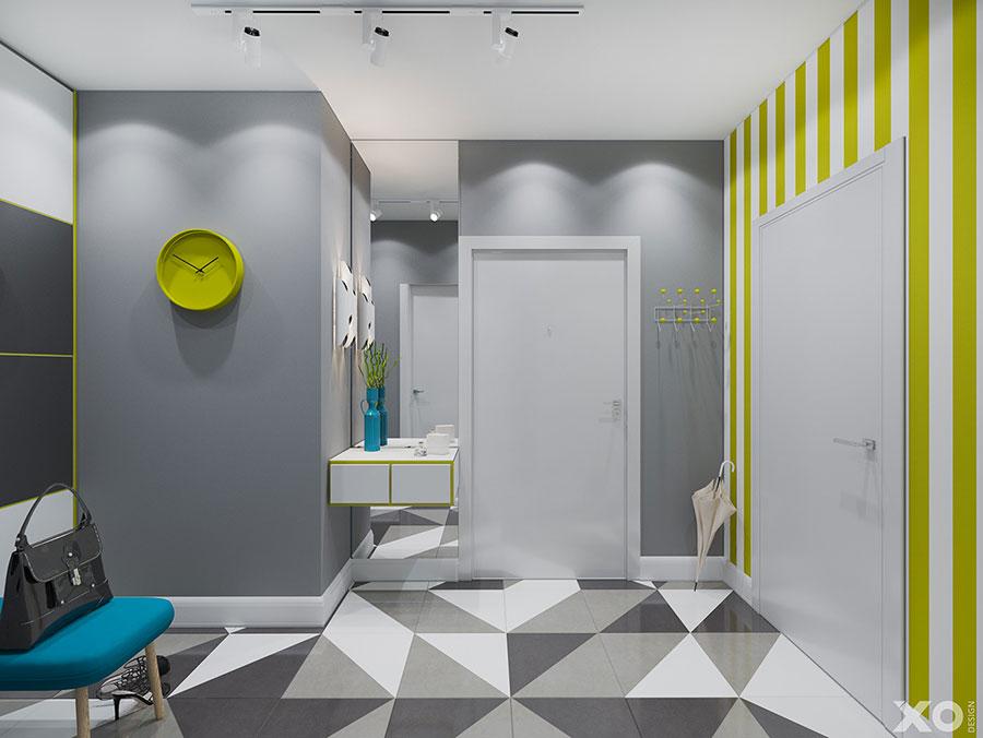 Progetto per appartamento di 40 mq n.66