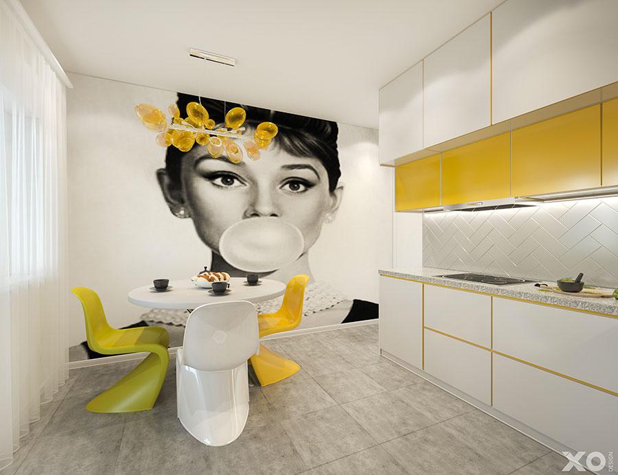 Progetto per appartamento di 40 mq n.68