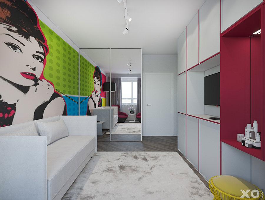 Progetto per appartamento di 40 mq n.69