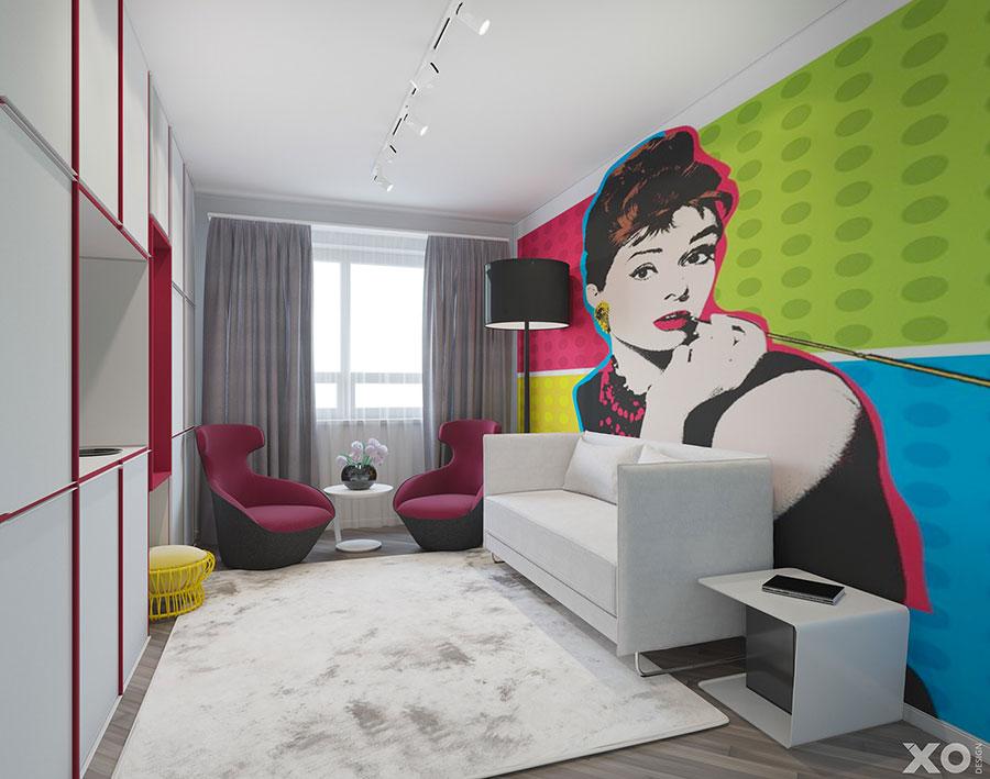 Progetto per appartamento di 40 mq n.70