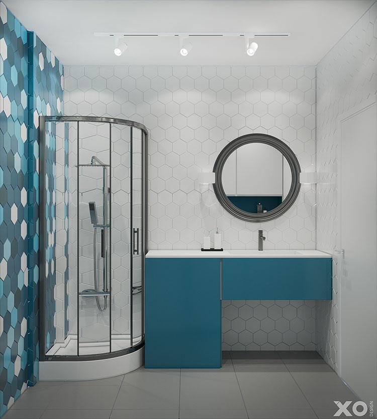 Progetto per appartamento di 40 mq n.71