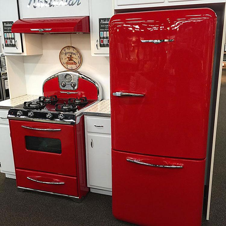 Modello di cucina vintage in stile anni '50 n.20