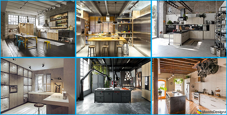 Come Arredare una Cucina Stile Industriale  MondoDesign.it