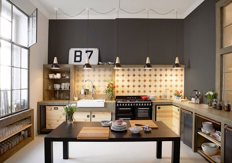 industrial style kitchen islands cucine in stile industriale 25 modelli di design a cui 18798