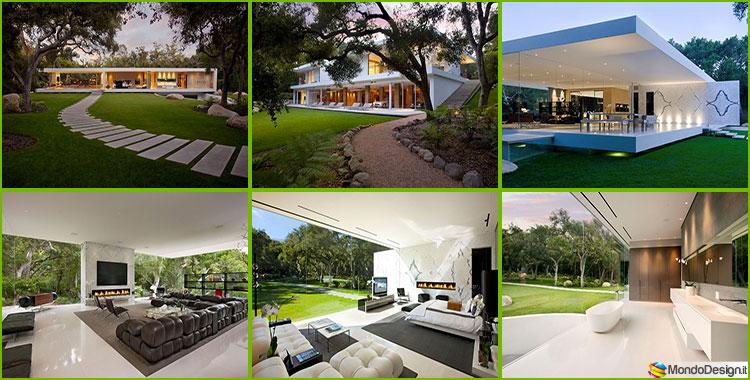 Glass Pavilion: la Casa Da Sogno con Pareti di Vetro di Steve Hermann
