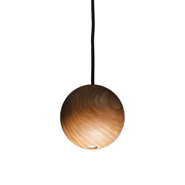Modello di lampadario in legno moderno dal design contemporaneo n.04