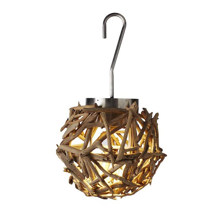 Modello di lampadario in legno moderno dal design contemporaneo n.16