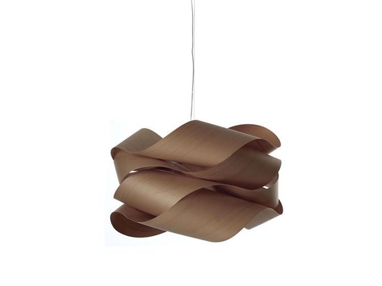 Modello di lampadario in legno moderno dal design contemporaneo n.24