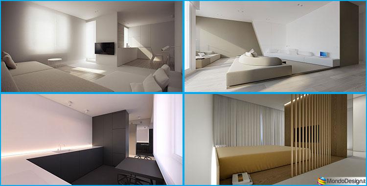 Appartamenti dal design minimalista