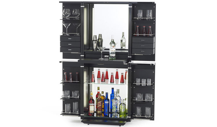 Mobile bar dal design moderno per casa n.10