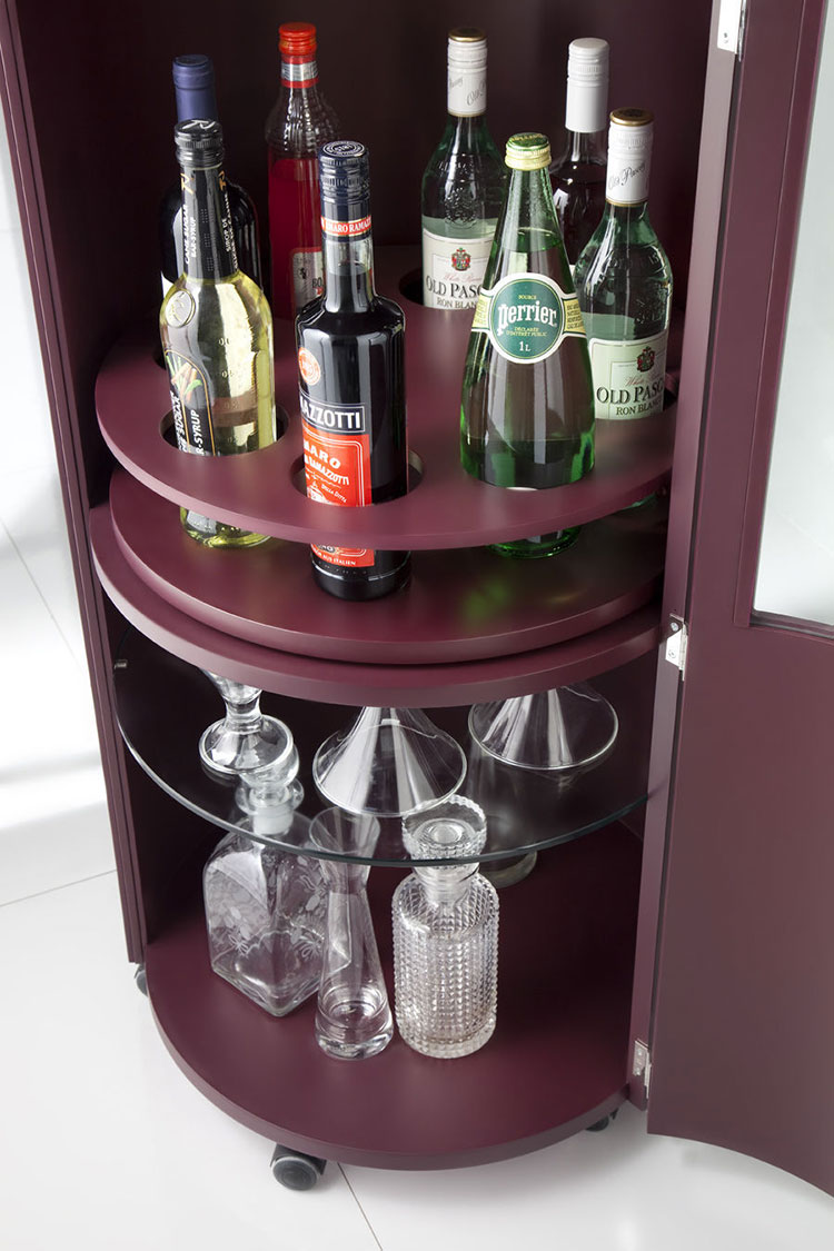 Mobile bar dal design moderno per casa n.18