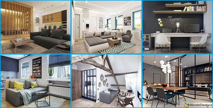 Come arredare una casa di 50 mq ecco 5 progetti di design - Come arredare una casa ...