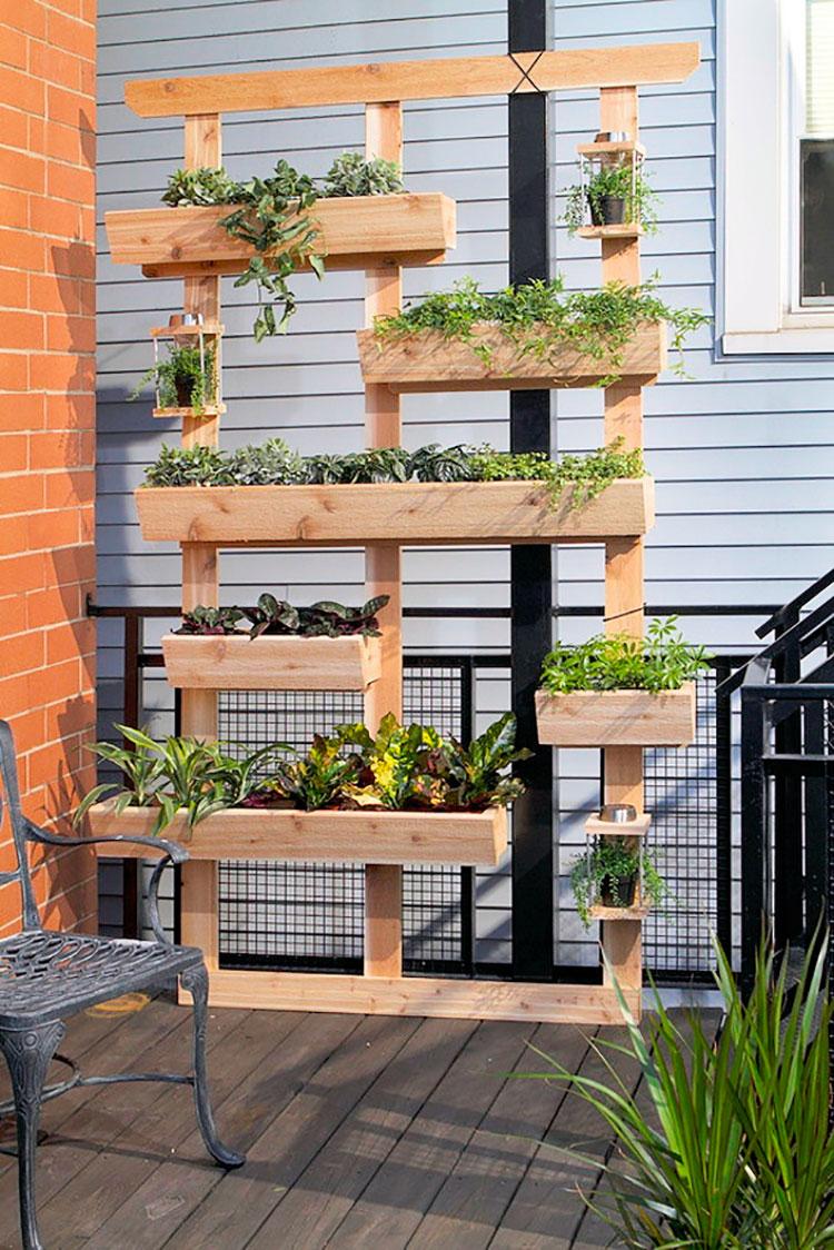 Idee per arredare un giardino fai da te n.02
