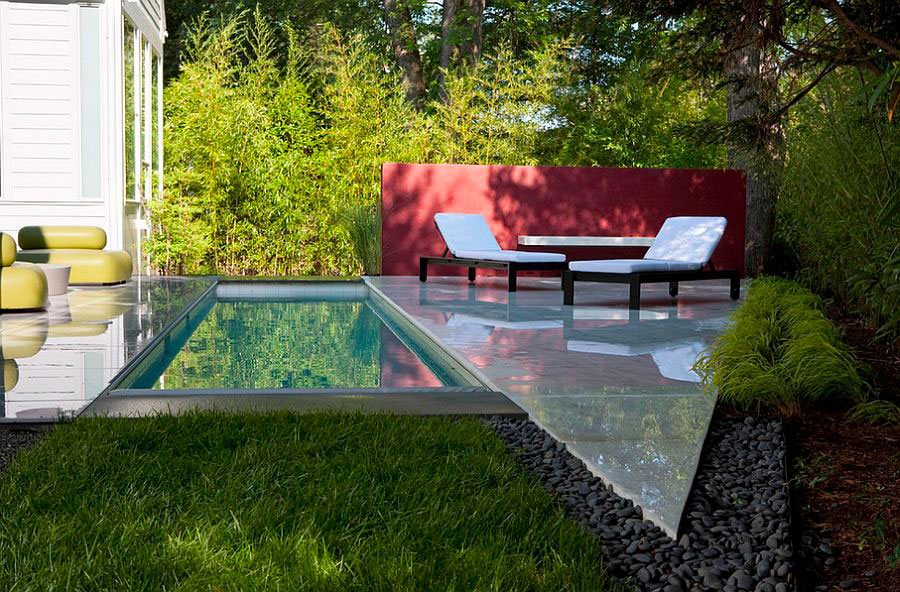 Idee per arredare un giardino con piscina n.03