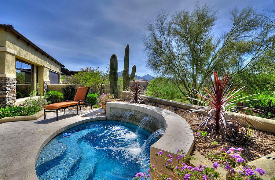 Idee per arredare un giardino con piscina n.04