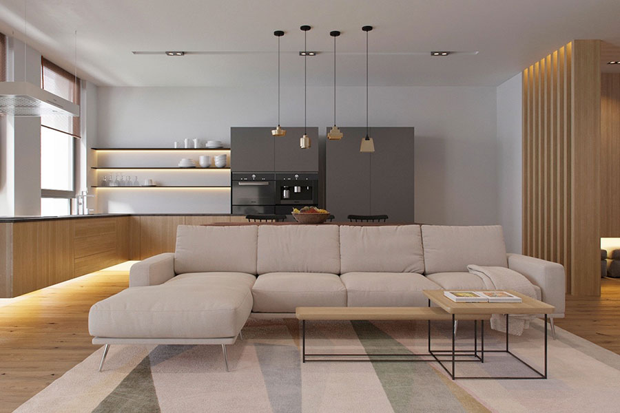Idea per arredare un open space moderno di design n.16