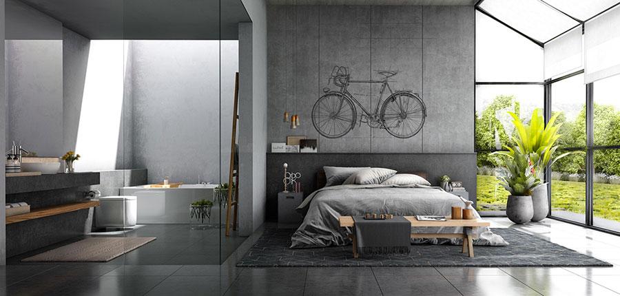 Arredamento stile industriale per loft dal design unico n.19