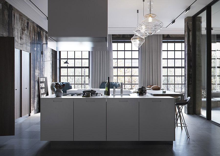 Arredamento stile industriale per loft 30 idee dal design for Arredamento stile americano