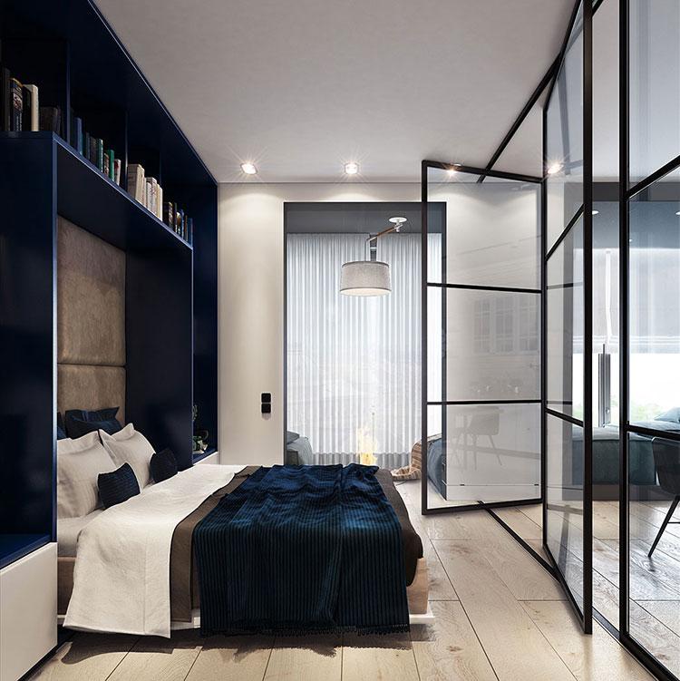 Arredamento per un casa di 50 mq dal design moderno n.15
