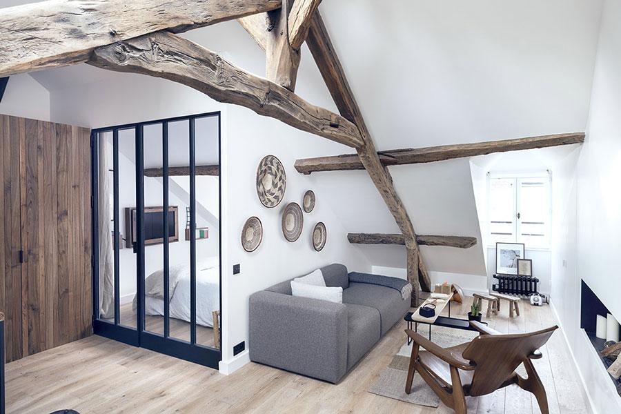 Arredamento per un casa di 50 mq dal design moderno n.20